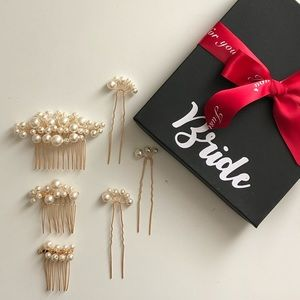 Bridal Pearl Hair Pins